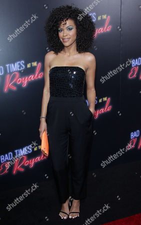Editorial image of 'Bad Times at the El Royale' film premiere, Arrivals, Los Angeles, USA - 22 Sep 2018