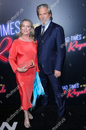 Susan Bridges and Jeff Bridges