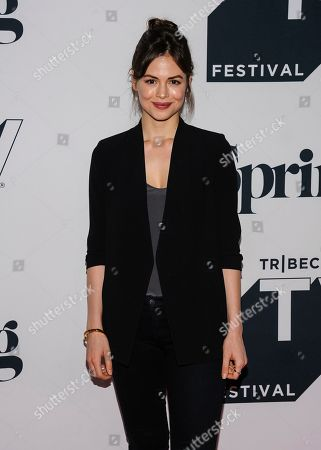 "Conor Leslie attends the screening of ""Shrimp"" during the Tribeca TV Festival at Spring Studios, in New York"