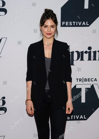 """Conor Leslie attends the screening of """"Shrimp"""" during the Tribeca TV Festival at Spring Studios, in New York"""