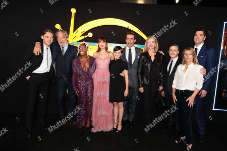 Lewis Pullman, Jeff Bridges, Cynthia Erivo, Dakota Johnson, Cailee Spaeny, Jon Hamm, Emma Watts, Vice Chairman of Twentieth Century Fox Film, Jeremy Latcham, Producer, Stacey Snider, Chairman and CEO, Twentieth Century Fox Film, Drew Goddard, Director/Writer/Producer,