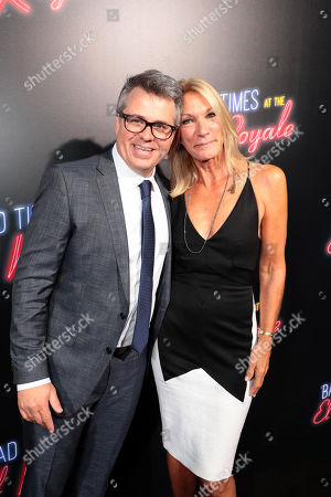 Editorial photo of Twentieth Century Fox 'Bad Times at the El Royale' global film premiere at TCL Chinese Theatre, Los Angeles, USA - 22 Sep 2018
