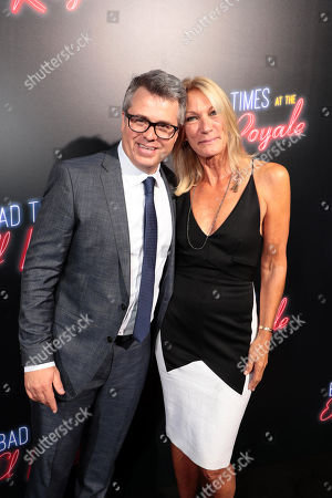 Editorial picture of Twentieth Century Fox 'Bad Times at the El Royale' global film premiere at TCL Chinese Theatre, Los Angeles, USA - 22 Sep 2018