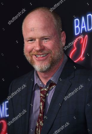 """Joss Whedon arrives at the Los Angeles premiere of """"Bad Times at the El Royale"""" at TCL Chinese Theatre on"""