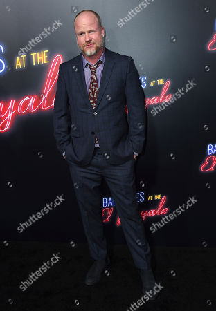 "Joss Whedon arrives at the Los Angeles premiere of ""Bad Times at the El Royale"" at TCL Chinese Theatre on"
