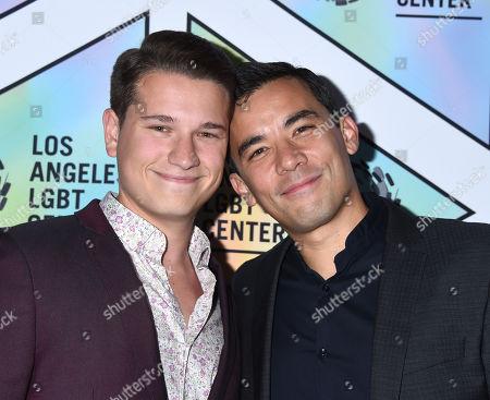 Josh Cochran and Conrad Ricamora