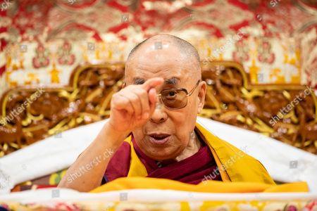 Editorial image of Dalai Lama, Tenzin Gyatso in Zurich, Switzerland - 23 Sep 2018