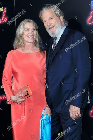 Susan Bridges, Jeff Bridges arriving at the premiere of 20th Century FOX's Bad Times at the El Royale at TCL Chinese Theatre IMAX in Los Angeles, California, USA 22 September 2018. The movie opens in the US 12 October 2018.