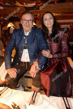 Stock Picture of Verena Fulton Smith & Neuer Jan Hofer & Phong Lan Balz