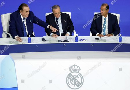Editorial image of Real Madrid's ordinary general assembly, Spain - 23 Sep 2018