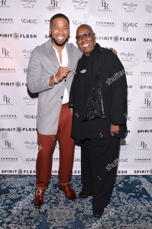 Editorial photo of 'Spirit and Flesh' Magazine Cover Launch Party, New York, USA - 22 Sep 2018