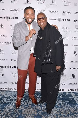 Editorial image of 'Spirit and Flesh' Magazine Cover Launch Party, New York, USA - 22 Sep 2018