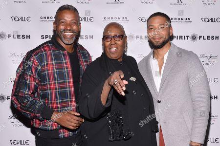 Stock Photo of Jussie Smollett, Judith Jamison, Musa Jackson
