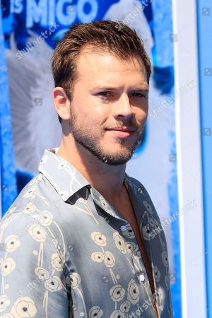 US actor/cast member Jimmy Tatro arrives at the premiere of Warner Bros. Pictures' 'Smallfoot' at the Regency Village Theater in Los Angeles, California, USA, 22 September 2018 (issued 23 September 2018). The movie opens in the US on 28 September.