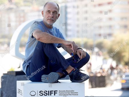 Argentine actor and cast member Dario Grandinetti poses during the presentation of his film 'Rojo' (Red) at the 66th edition of San Sebastian international Film Festival (SSIFF), in San Sebastian, Basque Country, Spain, 23 September 2018. The 66th edition of the SSIFF runs from 21 to 29 September.