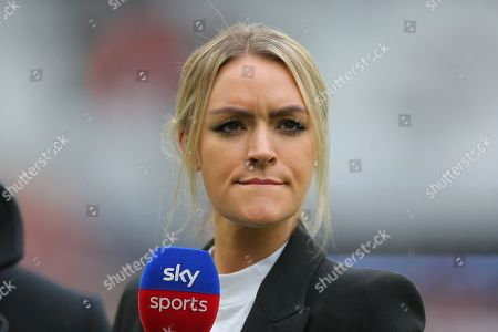 Hayley McQueen presenter of  Sky Sports