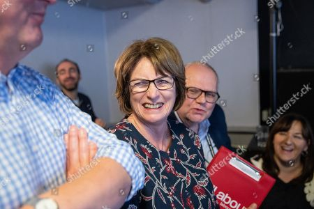 Louise Ellman MP at a rally by The Jewish Labour Movement at The Liverpool Pub