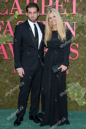 Tomaso Trussardi and Michelle Hunziker