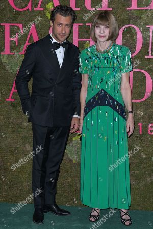 Francesco Carrozzini and Anna Wintour