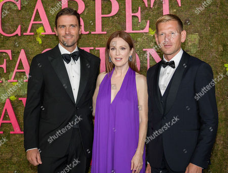Stock Image of Guest, Julianne Moore and James Ferragamo