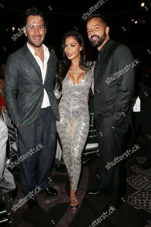 Jwan Yosef, Ricky Martin, Nicole Scherzinger