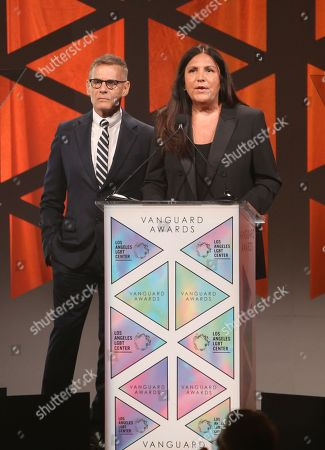 Editorial photo of 49th Anniversary Gala Vanguard Awards, Inside, Los Angeles LGBT Center,  USA - 22 Sep 2018