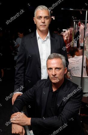 Stock Photo of Antonino Ingrasciotta and Joseph Graesel backstage