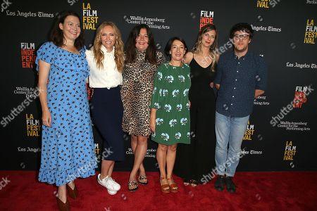 Stock Image of Toni Collette, Kate Crowther, Nick Payne, Lucy Tcherniak, Roanna Benn, Jude Liknaitzky