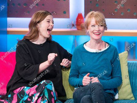 Claudia Jessie and Claire Skinner