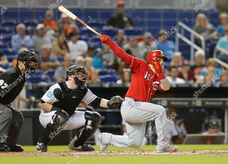 Cincinnati Reds v Miami Marlins
