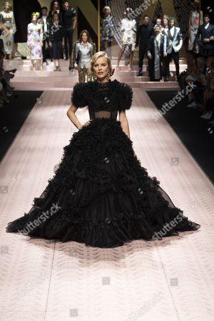 Dolce and Gabbana show, Runway, Milan Fashion Week