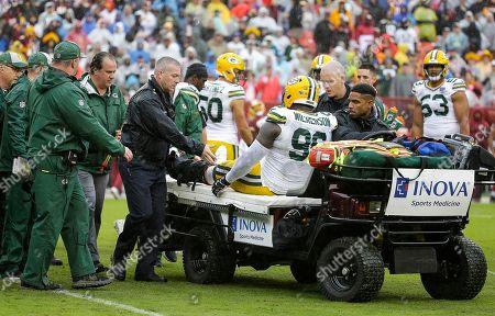 Editorial image of NFL Packers vs Redskins, Landover, USA - 23 Sep 2018
