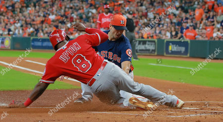 Los Angles Angels v Houston Astros