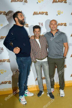 Ramzy Bedia, Jamel Debbouze and Eric Judor