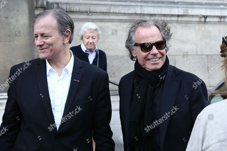 Francis Huster and Michel Leeb