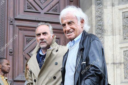 Jean-Paul Belmondo and Antoine Dulery