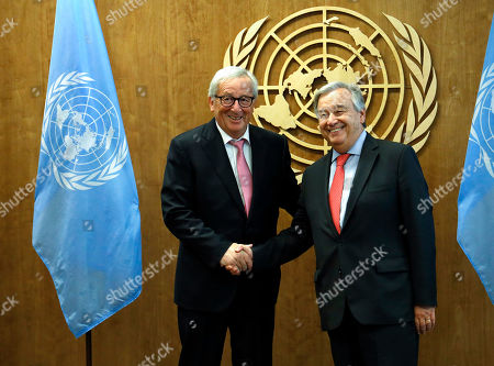 President of the European Commission Jean-Claude Juncker visit to New York