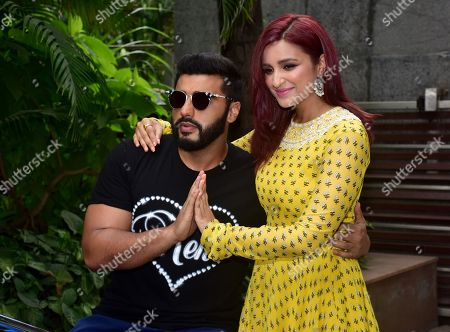 Stock Photo of Arjun Kapoor and Parineeti Chopra