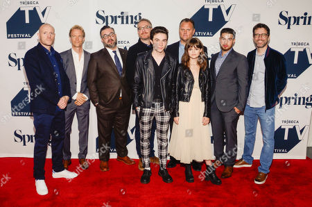 Iain B. MacDonald, Greg Coolidge, Shawn Simmons, Paul Wernick, Mark McKenna, Kirk Ward, Ciara Bravo and Rhett Reese