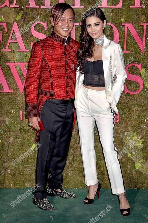 Stephen Hung and Deborah Valdez