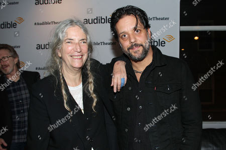 Patti Smith and George Stroumboulopoulos