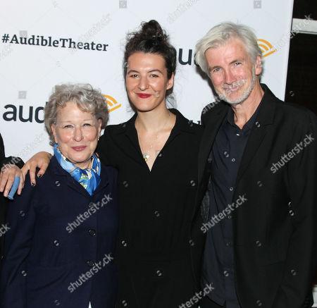 Bette Midler, Jesse Smith and Lenny Kaye
