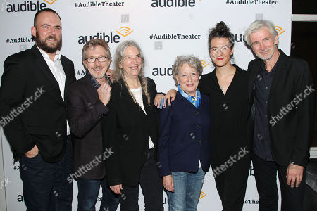 Patti Smith, Don Katz (CEO; Audible), Bette Midler, Jesse Smith and Lenny Kaye