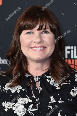 """Pam Murphy attends a screening of """"All About Nina"""" at the LA Film Festival, in Beverly Hills, Calif"""