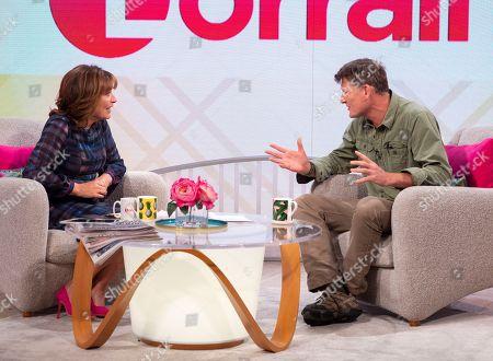 Lorraine Kelly and Benedict Allen