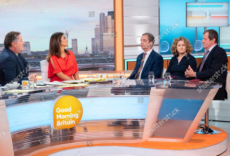 Piers Morgan, Susanna Reid, Nigel Farage, Grace Campbell and Alastair Campbell