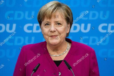 CDU party presidium meeting, Berlin