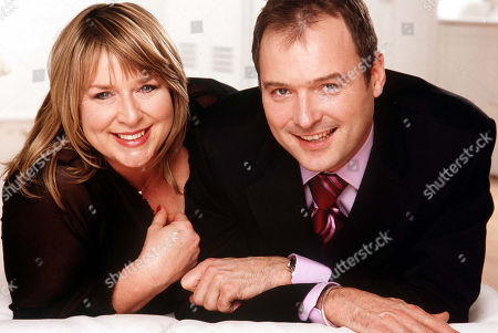 Fern Britton and John Leslie.  'This Morning' TV Programme - 2002