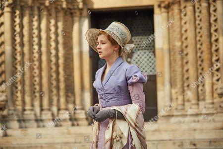 Claudia Jessie as Amelia Sedley.