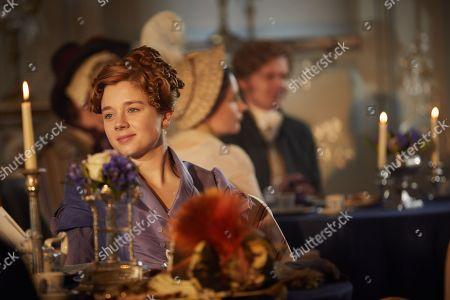 Stock Picture of Claudia Jessie as Amelia Sedley.